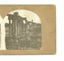 B2991 Stereoscopic History 31 The Forum At Rome Italy D