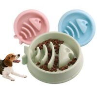 Slow Feeder Dog Bowl Eating Interactive Down Feed Large Feeding Pet Bloat Stop