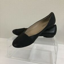 Ellen Tracy Womens Shoes Flats Size 6 M Black Leather Loafer Allie Career Office
