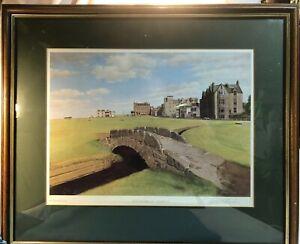 Old Course St Andrews, Scotland  -  Signed Graeme W Baxter - Print