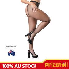 Black Fishnet Crotchless Pantyhose stockings Plus size Tall