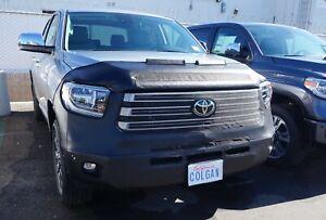 Colgan Front End Mask Bra 2pc.Fits Toyota Tundra 2014-2021 W/Licen. EXC. TRD Pro