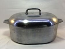 Magnalite Roaster 8 Qt Size With Trivet & Warranty Card 1989