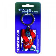 Hasbro Transformers Starscream Licensed Metal Key Fob-Key Ring-Keychain