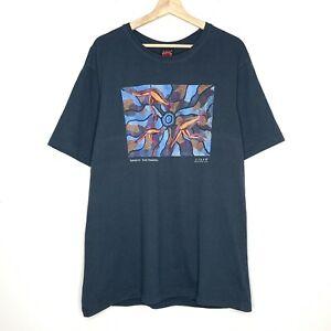 Jijaka Kangaroo Bush Dreamtime Aboriginal Art Australia Mens T-Shirt Size XL