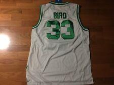 Larry Bird Autographed Adidas Hardwood Classics Celtics Jersey, GFA Certified