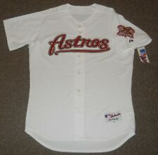 Houston Astros White Authentic Jersey sz 48 Majestic New w/ tags Mens
