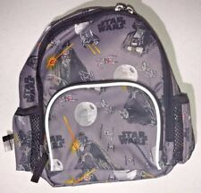 Pottery Barn Rare Star Wars Mini Backpack Grey Black 8.5 x 4 x 10 NEW - NWT
