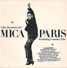 DISCO 45 GIRI MICA PARIS like dreamers do // wicked