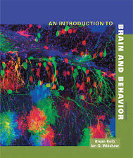 NEW An Introduction to Brain and Behavior by Kolb & Whishaw 3Ed (2011) Hardcover