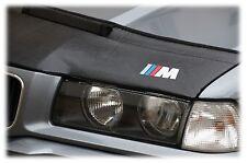 Bra bmw 3 e46 año 98 - 05 + m logotipo desprendimiento protección Haubenbra Tuning
