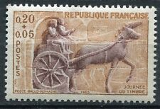 STAMP / TIMBRE FRANCE NEUF LUXE °° N° 1378 ** JOURNEE DU TIMBRE 1963