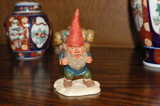 Rien Poortvliet Classic David the Gnome Statue John with Backpack 2001 Egbert