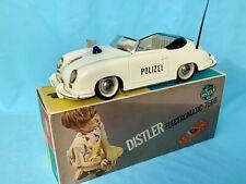 #  Distler Porsche 7500 Original Polizei In OVP (57567) Blechspielzeug Selten