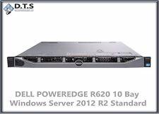 DELL POWEREDGE R620 10x 900Gb H710  WINDOWS SERVER 2012 R2 STANDARD