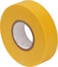 10 x Yellow PVC Insulation Tape -19m x 20m Flame Retardant BS 3924  EPT16