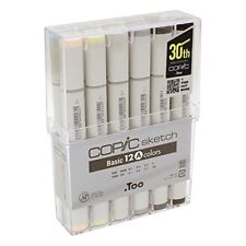 Copic sketch basic 12-color set A Art Markers for Design/Manga/Anime Japan F/S