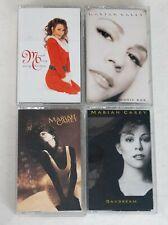 Lot of 4 Mariah Carey Cassettes - EXCELLENT