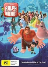 RALPH BREAKS THE INTERNET DVD Region 4 BRAND NEW & SEALED!