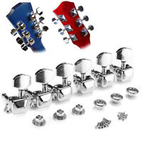 Acoustic Guitar String Button Semiclosed Tuning Pegs Tuner Machine Heads Knob SH