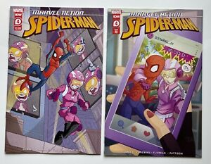 MARVEL ACTION SPIDER-MAN #4 COVER A & 1:10 Incentive Variant   SCREWBALL NM 2021