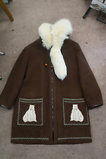 JAMES BAY WOOL PARKA COAT BLANKET UNISEX + FUR