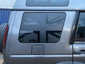 Landrover Discovery 2 Td5/V8 Rear Window Union Jack Vinyls/decals/graphics