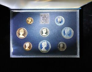 United Kingdom 1984 Proof Coin Collection Royal Mint