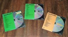 Pioneer Laser Karaoke Disc Lot of 3
