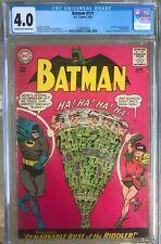 Batman #171 (1965) CGC 4.0 -- 1st Silver Age Riddler; Basis for the Batman pilot