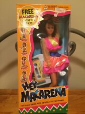 1996 Hey Macarena 12 inch  Doll w/ Cassette Tape of Song  Fun Source