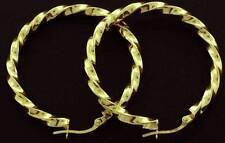 Screw Back (pierced) 9 Carat Yellow Gold Fine Earrings