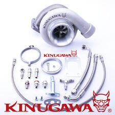 "Kinugawa Ball Bearing Billet Turbocharger 4"" GT3582R A/R .73 T3 V-Band External"