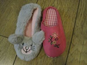 2 Dog Slippers for Your dog to play or chew up rabbit flowers X sample Slippers