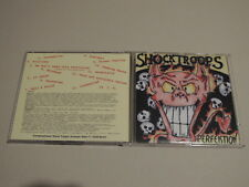 Shocktroops - Perfektion (CD) * Skin Oi Punk * Shock Troops * Rar & Top Zustand