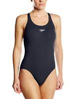 Speedo Womens Competitive Swimwear Swimsuit, Navy, 14 36 UK  EU 40