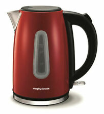 Red Cordless Electric Kettle Tea Kettles