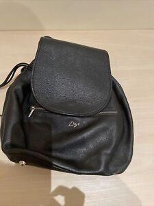 Florsheim Zizi Black Leather Backpack