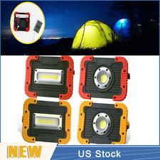 10W COB LED Rechargeable Torch Work Light Flashlight Emergency Charger Camping