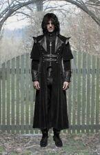Steampunk Gothic Herren Mantel Punk Rave Y-654 Mittelalter Kutschermantel Pirat