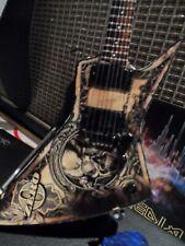 DAVE MUSTAINE (Megadeth) - Dean Zero In Deth We Trust 1:4 Replica Guitar ~New