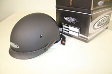 Cyber-US 72 Helmet Street  Motorcycle matte black MD Medium 640842