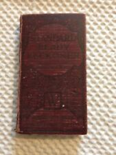 Vintage Book - Standard Ready Reckoner - With Calculations From 1/16 of a Penny