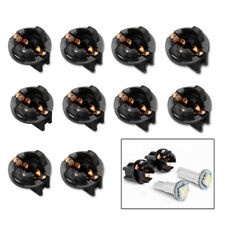 10x T10 W5W 168 192 194 Wedge Instrument Panel Dash Light Base Socket Twist Lock