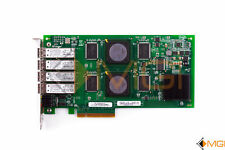 QLOGIC 4GB 4PORTS QUAD PCIEXPRESS x8 W/ TRANCEIVERS ADAPTER HIGH PROFILE QLE2464