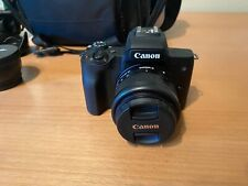 Canon EOS M50 Mirrorless Digital Camera and accessories