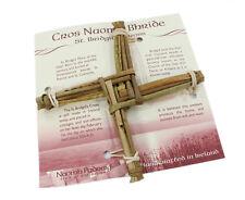 "New Small St. Brigid's Cross 6"" x 6"" x .75"" Handcrafted Irish Made"