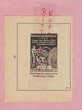 OEDERAN, Werbung 1920, Erwin Kabis Rohrreiniger Praktikus