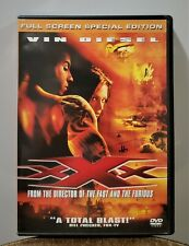 xXx (2002) Full Screen Special Edition Dvd Vin Diesel Asia Argento