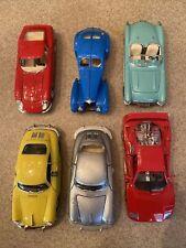 🚗 Burago Ferrari F40 From 1987 - 1/24 Scale Die Cast Diecast Metal Car Lot Of 6